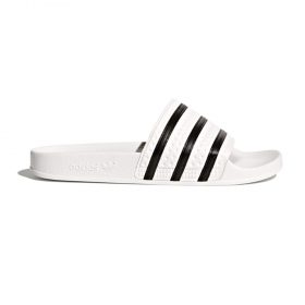 Adidas-Adilette-White-core-black-White