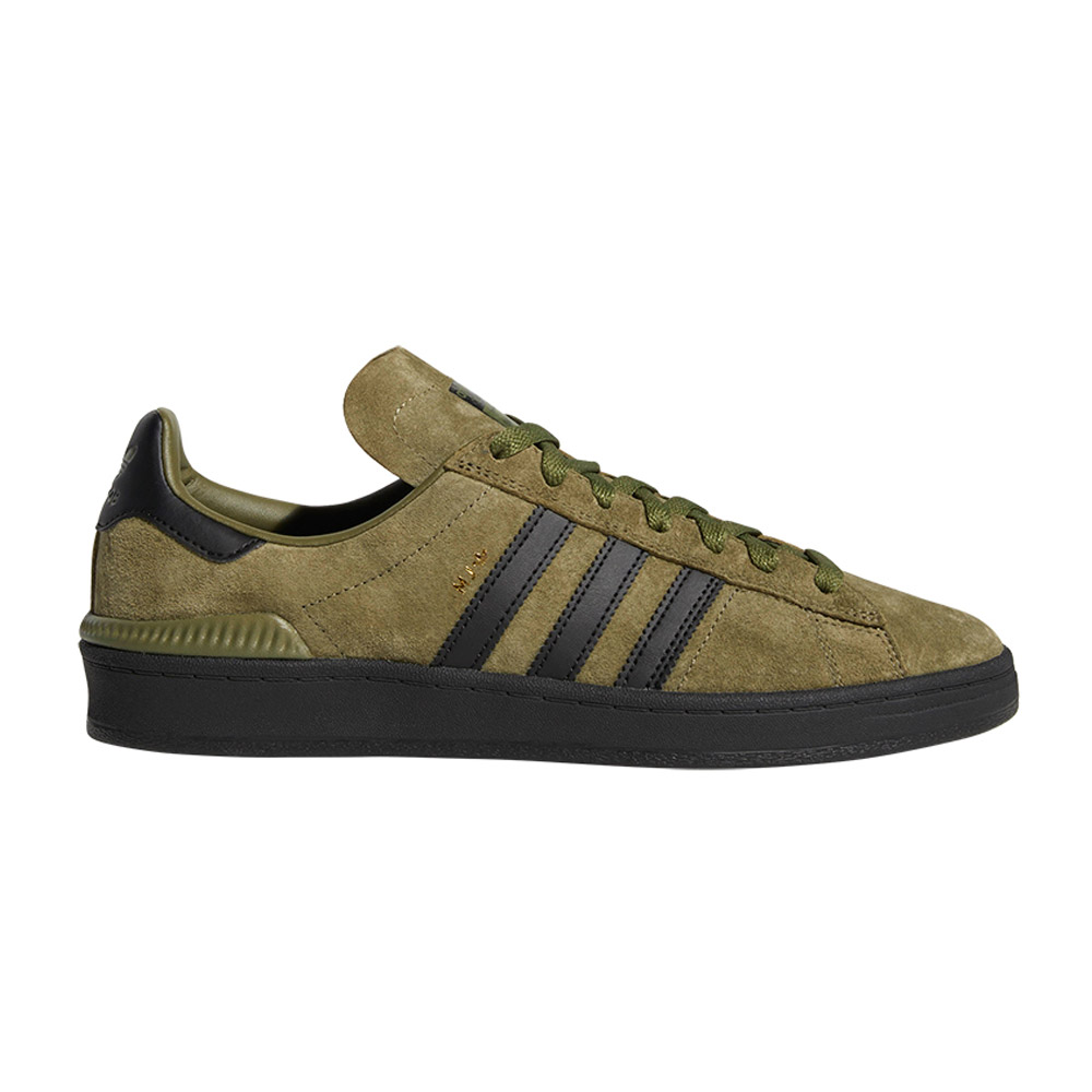 grossiste d14d7 d3209 Adidas Campus ADV Olive Black