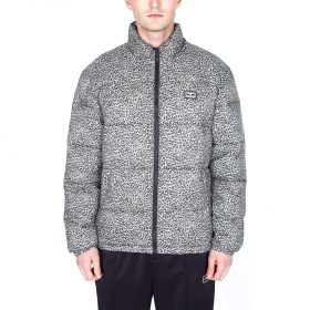 Obey Bouncer-Puffer-Jacket-Khaki-Leopard