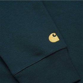 Carhartt-chase-sweatshirt-duck-blue-gold-14651