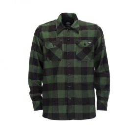 Dickies-Sacremento-Flannel-Green