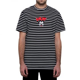 Huf X FELIX STRIPED SS TEE BLACK