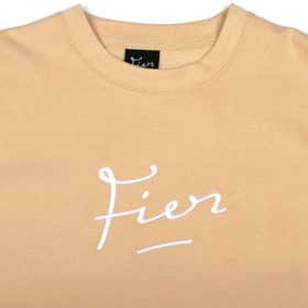 Fier-embroidered-Crew-Sand-White