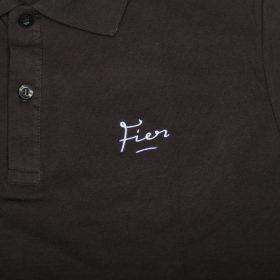 Fier Embroidered Polo Dark Grey