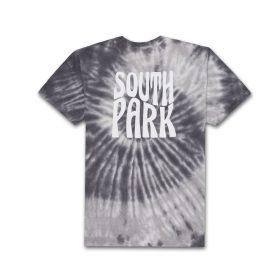 HUF-X-SOUTH-PARK-TRIPPY-TIE-DYE-TEE-BLACK