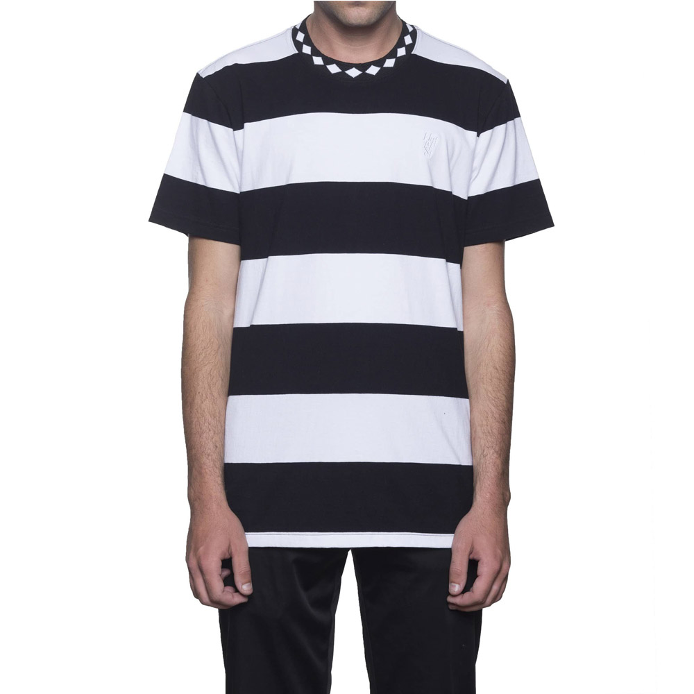 Huf-ACE-STRIPE-SHIRT-BLACK