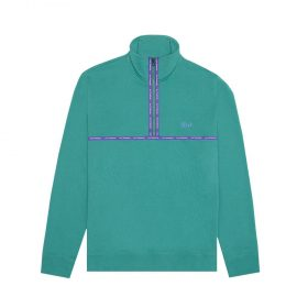 Huf-MIDTOWN-1-2-ZIP-FLEECE_DEEP-JUNGLE