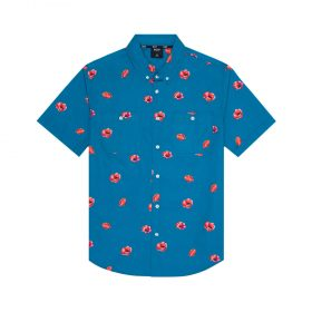 Huf-POPPY-SS-WOVEN-SHIRT_BISCAY-BAY