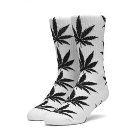 Huf-Plantlife-Socks-White-Black