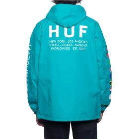 Huf-Regional-Tour-Anorak-Tropical-Green