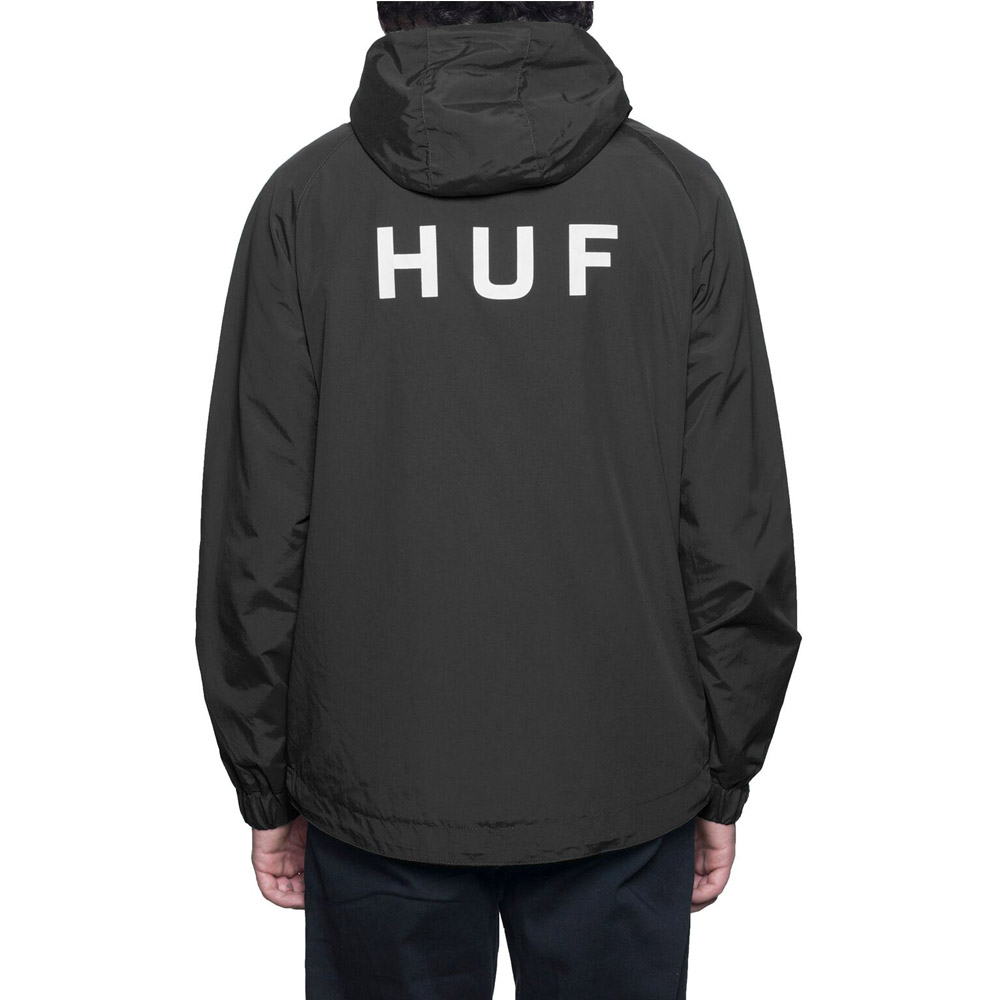 Huf-Shell-Jacket-Black1