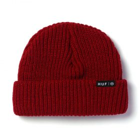 Huf-USUAL-BEANIE_SCARLET