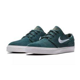 Nike SB Janoski Deep Jungle White Grey Green
