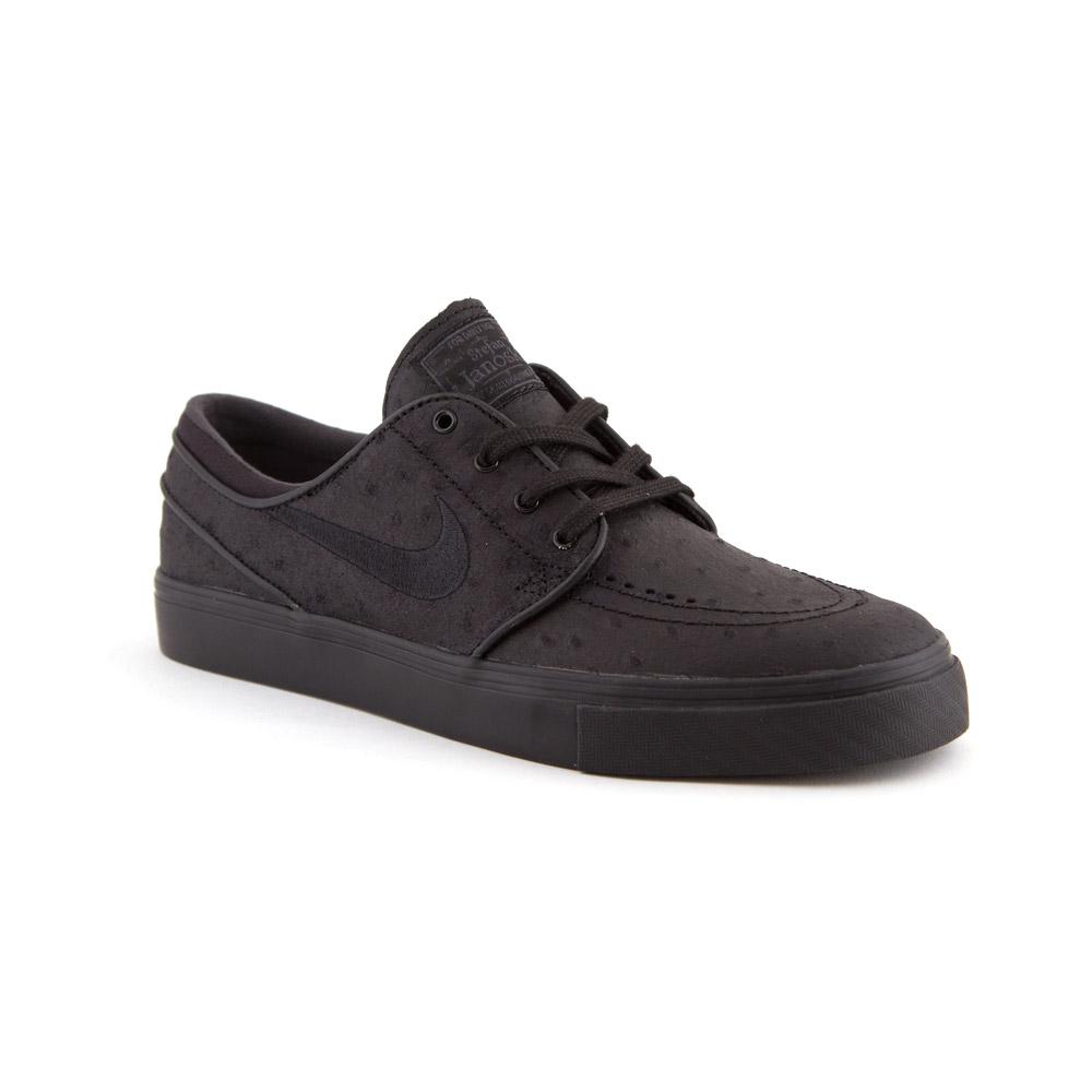 online for sale no sale tax reliable quality Nike SB Janoski PR Leather Black