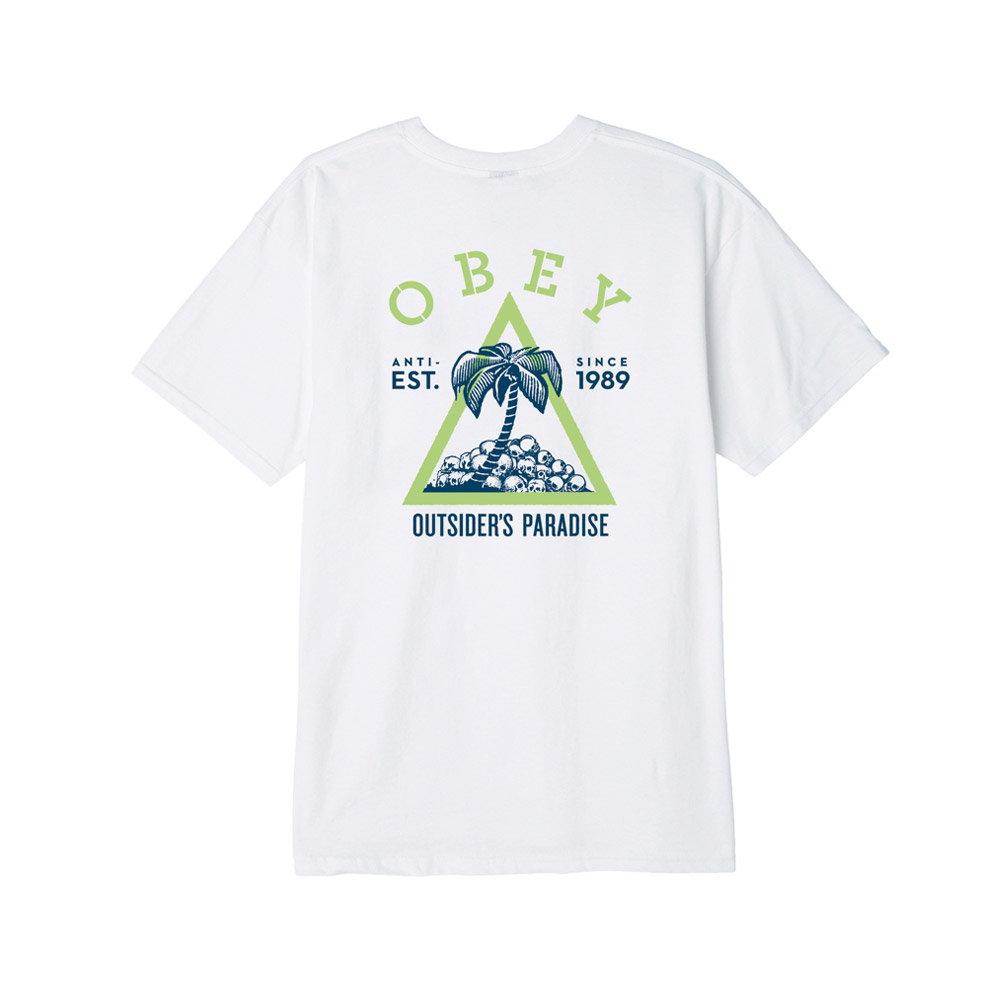 OBEY-Outsider'S-Paradise-Tee-White