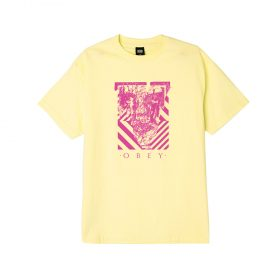 OBEY-Scratched-Icon-Tee-Lemon