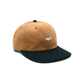 Obey-90's-Jumble-Bar-6-Panel-BoneBrown