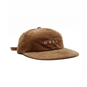 Obey--APPROACH-6-PANEL-STRAPBACK-Tapenade