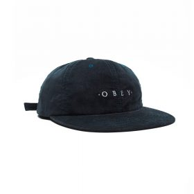 Obey--APPROACH-6-PANEL-STRAPBACK-dark-teal