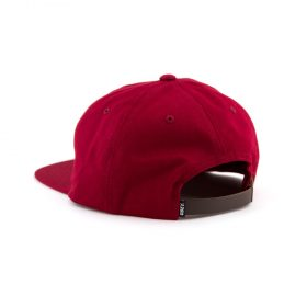 obey bunt 6 panel red