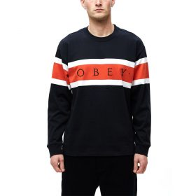Obey-EMBRACE-CLASSIC-TEE-LS-Black-Multi