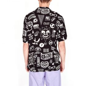 Obey-Flash-Woven-SS-Black-multi
