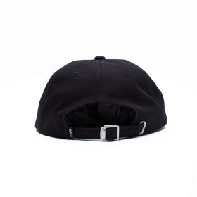 Obey-JUMBLED-6-PANEL-STRAPBACK-Black