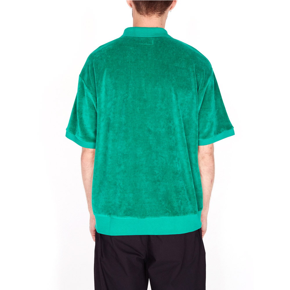 Obey-Joe-Zip-Classic-Polo-SS-Growth-Green