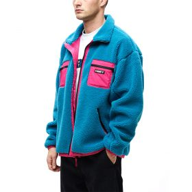 Obey--OUT-THERE-SHERPA-JACKET-Pure-Teal