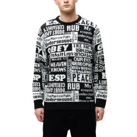 Obey-POST-SWEATER-Black-multi