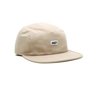 Obey-Sleeper-Camp-Cap-Khaki