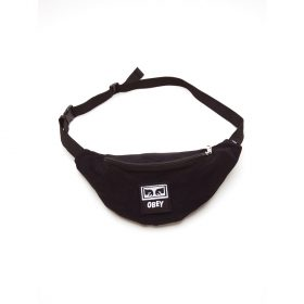 Obey-Wasted-Hip-Bag-Black