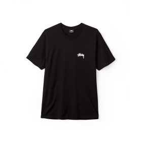 Surfman Check Tee Black