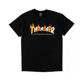 Thrasher-Flame-Mag-tee-Black
