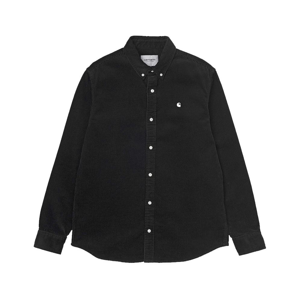 carhartt-long-sleeve-madison-cord-shirt-black